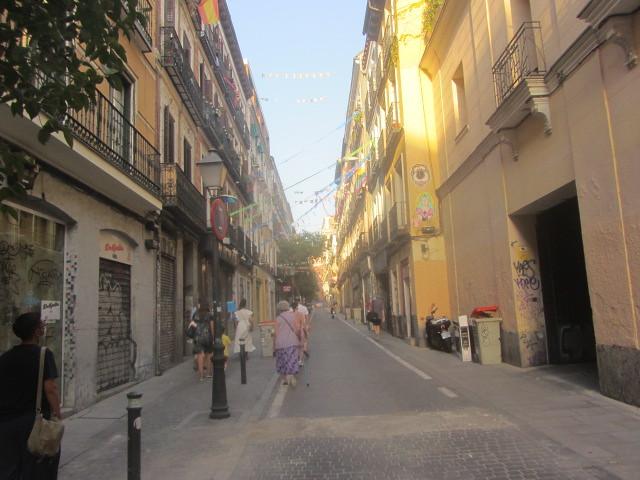 Calle La Palma, Malasaña, Madrid