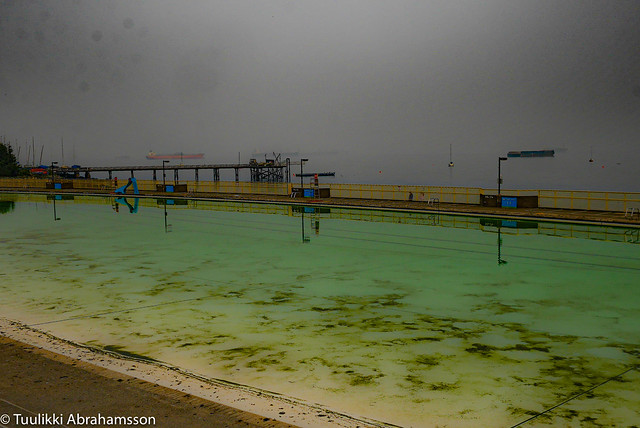 the pool is closed for the summer
