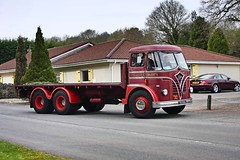 s.mitchell461 posted a photo:	A 1961 Foden arriving at Crockerton