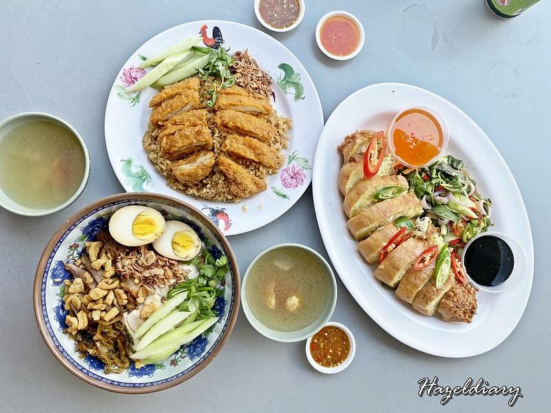 Pratunam Famous Chicken And Pork Leg Rice -Geylang
