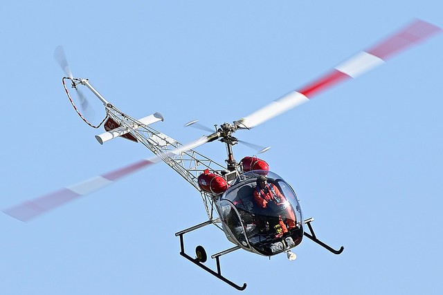 AS-47G Augusta Bell Helicopter OO-LPL