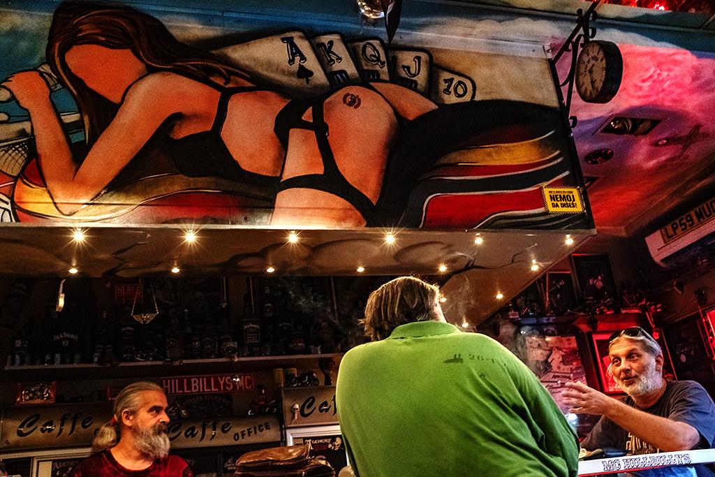HILLBILLYS' MC Clubhouse on 9-16-20--Belgrade
