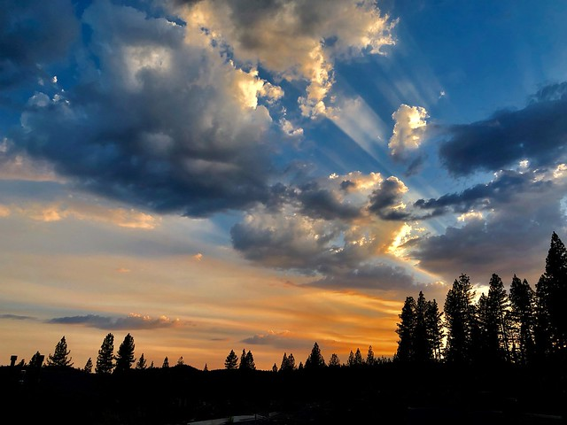 Sunset Over Wildfire Skies........... EXPLORE Sept 18, 2020