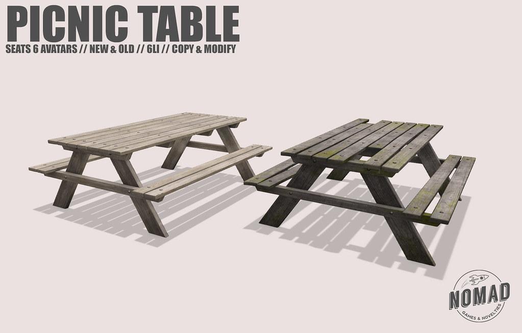 NOMAD // Picnic Table @ FLF