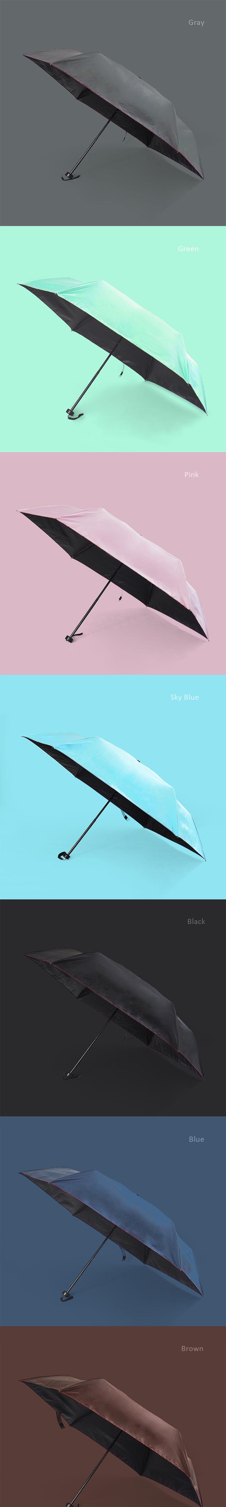 晴羽傘2020版 顏色長條