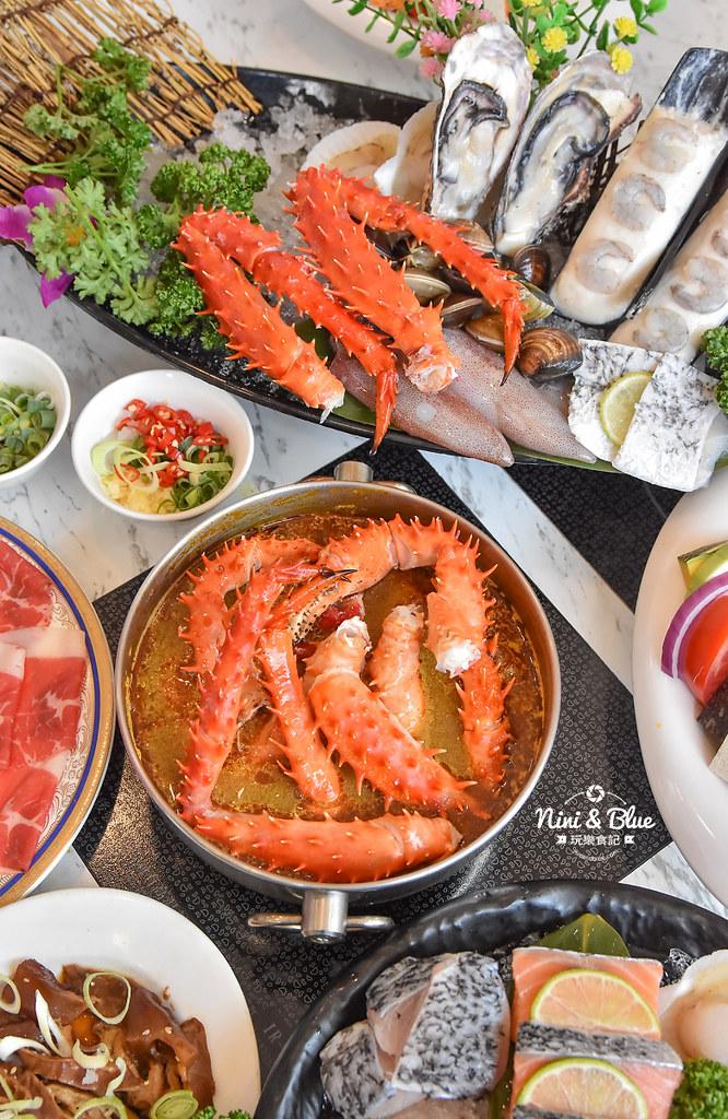 拉克薩 菜單 台中火鍋海鮮帝王蟹 新加坡叻沙35