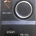 SONY TC55 UI featuring the Rec/Batt dial