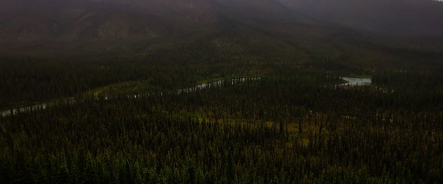 Canol Road, Southern Section - Yukon Territory, Canada.