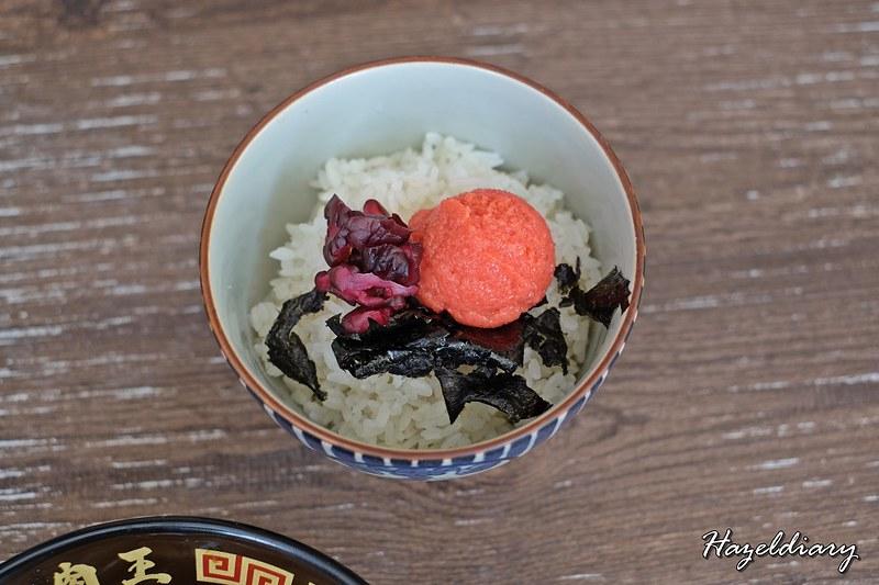 Niku King Ramen Keisuke-Mentaiko Rice