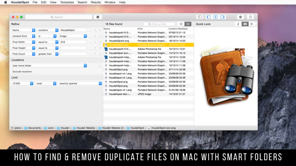 How to Find & Remove Duplicate Files on Mac with Smart Folders