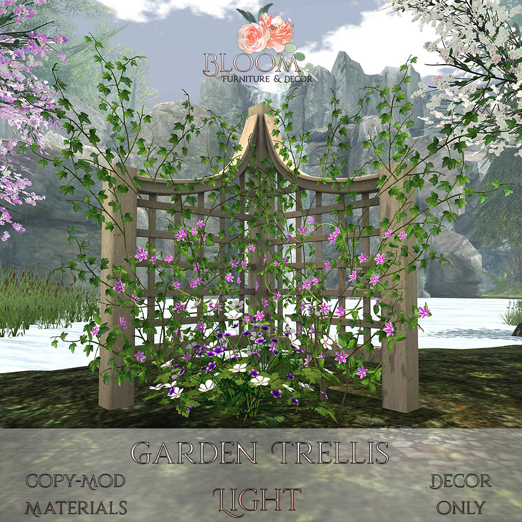 Bloom! – Garden Trellis LightAD