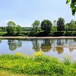 Scenic riverside at Preston
