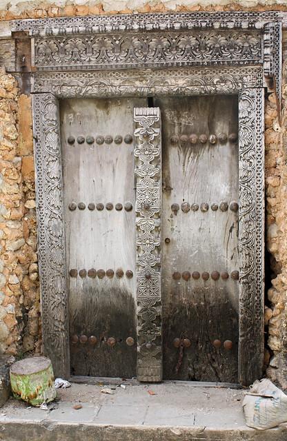 23. Ornate Door, Stone Town, Zanzibar, Tanzania