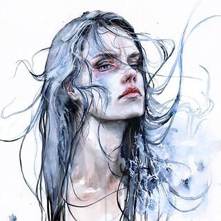 Colorful Portrait Watercolor Painting
