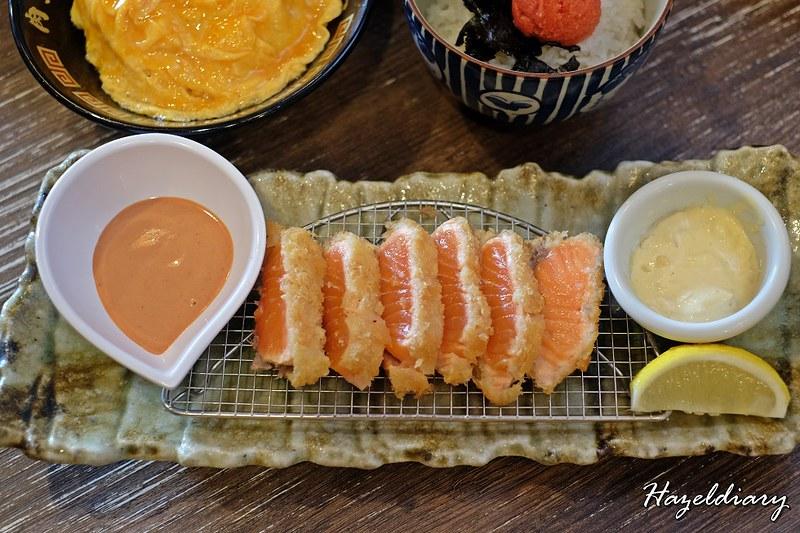 Niku King Ramen Keisuke-Deep Fried Salmon-1