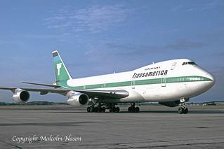 BOEING 747-271C N741TV TRANSAMERICA