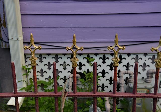 Fleur De Lis Fence