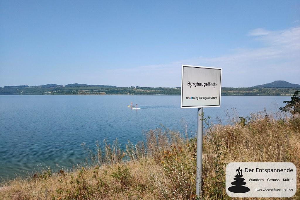 Bergbaugelände (Berzdorfer See an der Neiße, südlich von Görlitz)