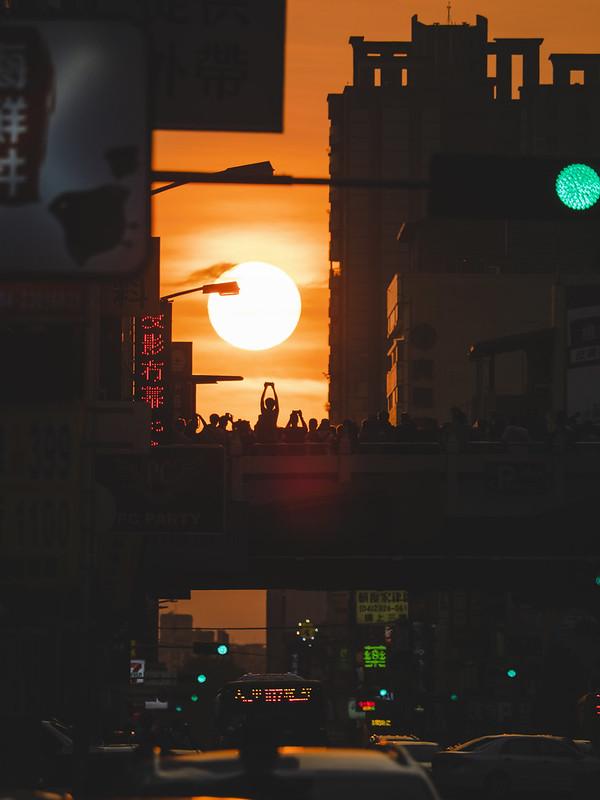 公益路懸日 Taichung