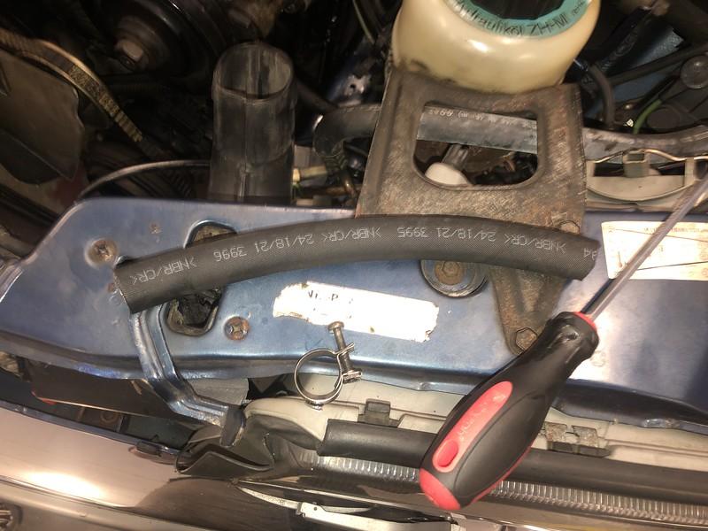 Low pressure hydraulic hoses