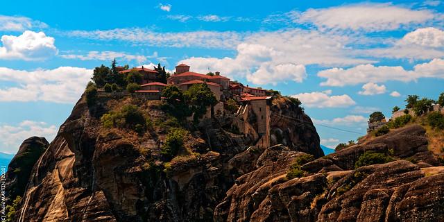 Les Météores (Grèce)