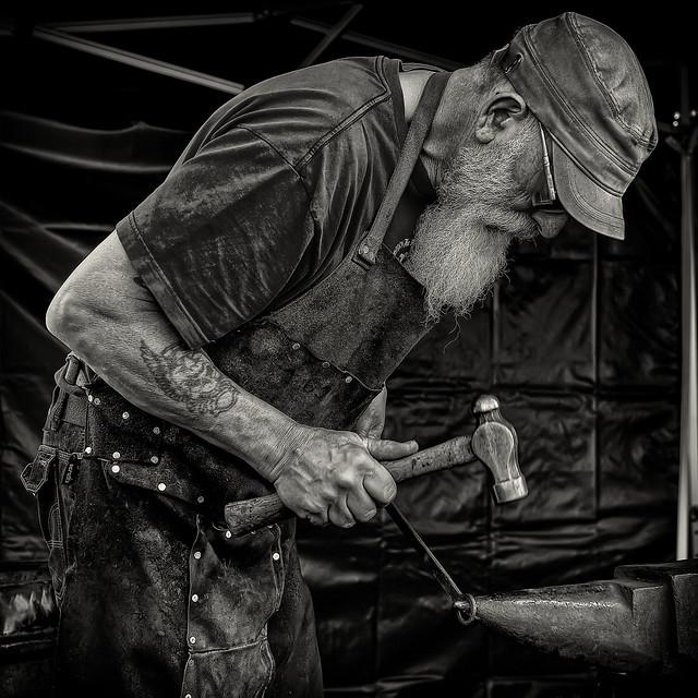 Blacksmith Haddon Hall