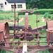 Old farm machinery in Grosse Ile, MI