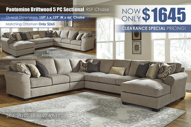 Pantomine Driftwood 5PC Sectional_39102-55-46-77-99-17