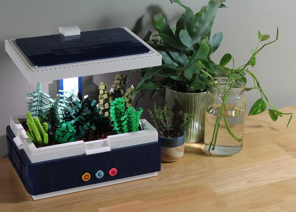 LEGO x IKEA Countertop Planter