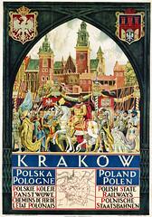 KAMINSKI, Zygmunt (1888-1969). Krakow-Polish State Railways, 1926.