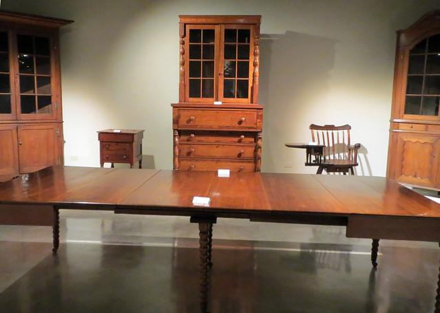 Antique Furniture On Display.