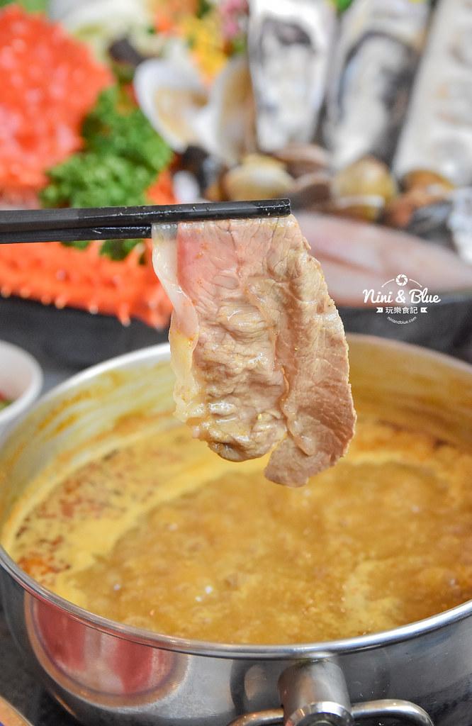 拉克薩 菜單 台中火鍋海鮮帝王蟹 新加坡叻沙33
