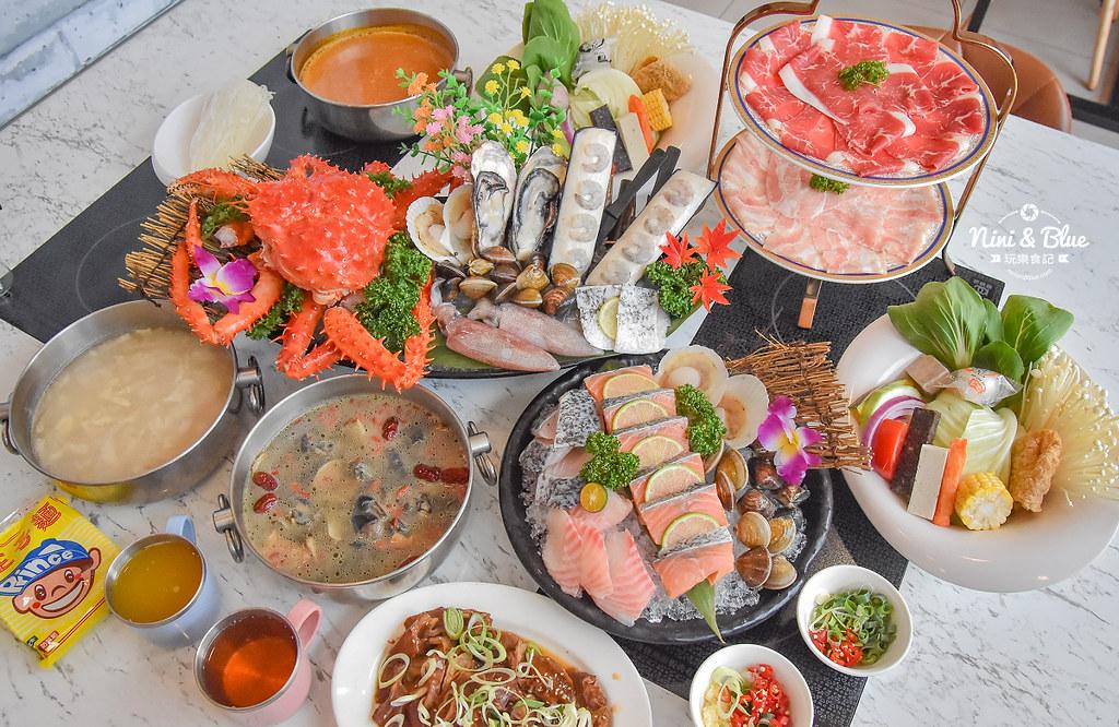 拉克薩 菜單 台中火鍋海鮮帝王蟹 新加坡叻沙22