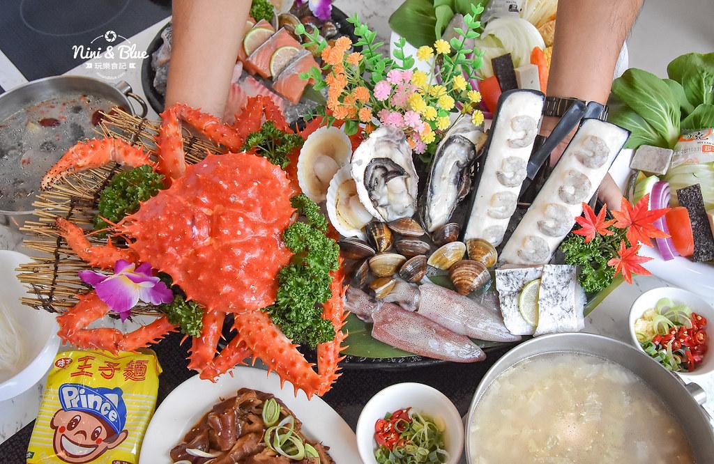 拉克薩 菜單 台中火鍋海鮮帝王蟹 新加坡叻沙17