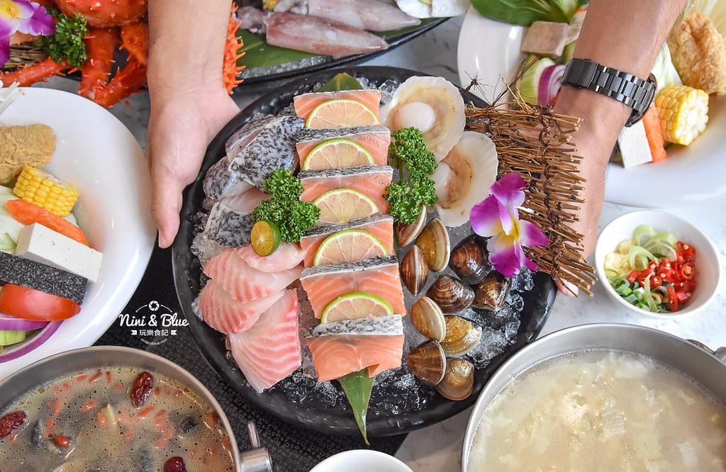 拉克薩 菜單 台中火鍋海鮮帝王蟹 新加坡叻沙16