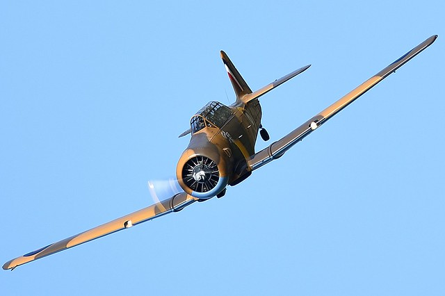 1951 North American T6 Harvard AJ841 G-BJST Wacky Wabbit RAF Desert Airforce
