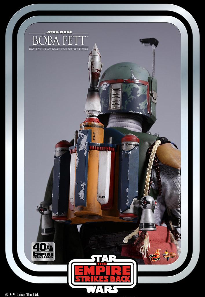 Hot Toys –MMS574-《帝國大反擊》波巴·費特 1/6比例人偶
