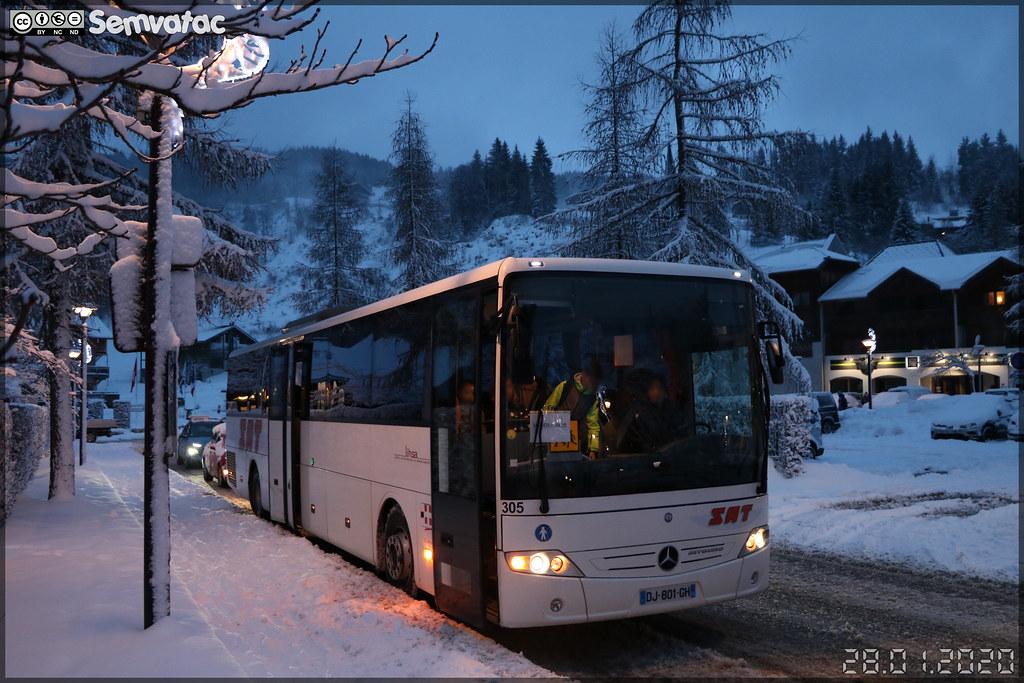 Mercedes-Benz Intouro – SAT Annemasse (Société Annemassienne de Transports) n°305
