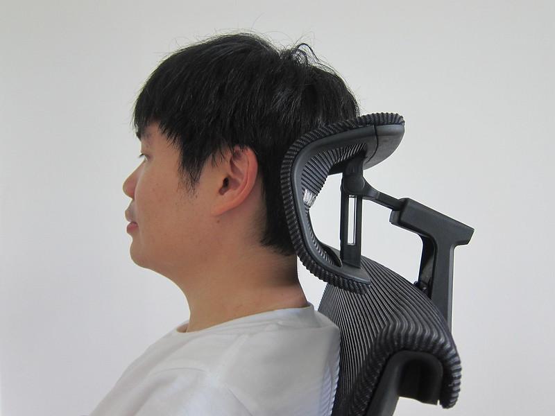 ErgoTune Supreme (2020) - Seated - Headrest
