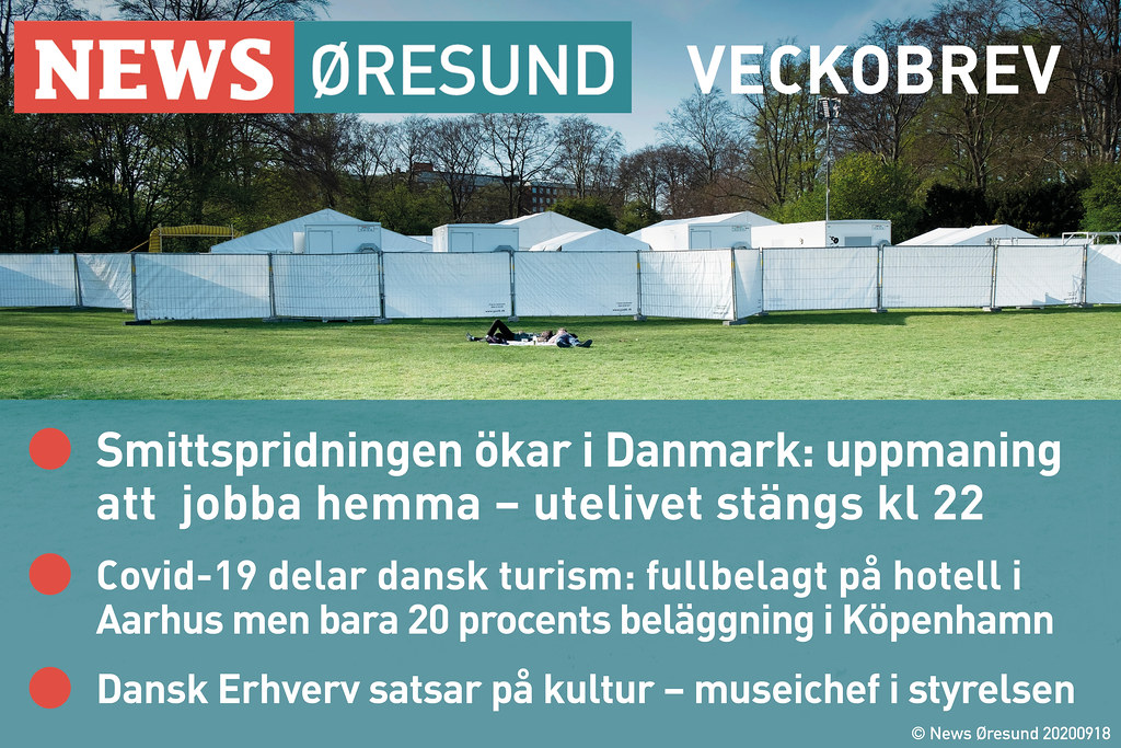 20200918 News Oresund veckobrev SE