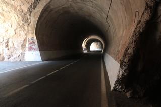 Tunel en Montanejos