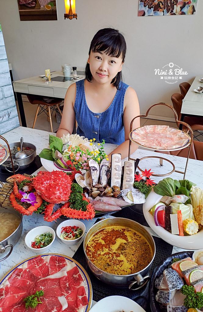 拉克薩 菜單 台中火鍋海鮮帝王蟹 新加坡叻沙38