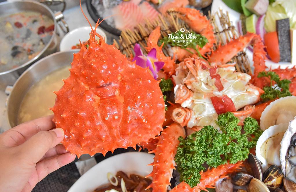 拉克薩 菜單 台中火鍋海鮮帝王蟹 新加坡叻沙19