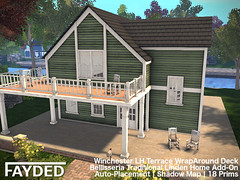 FAYDED - Winchester LH Terrace WrapAround Deck