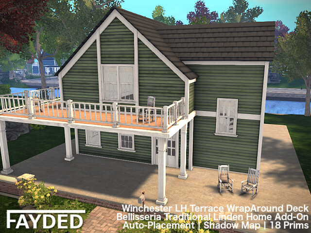 FAYDED – Winchester LH Terrace WrapAround Deck