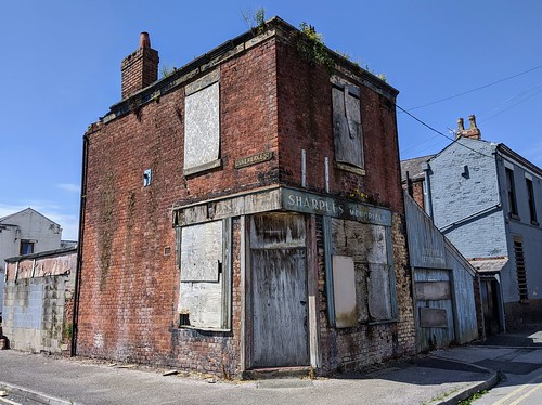 Abandoned building in Preston | by Tony Worrall
