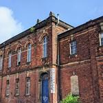 J Grantham and Son premises in Preston looking a bit run down