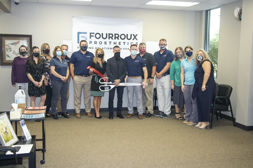 Fourroux Prosthetics Ribbon Cutting - 17