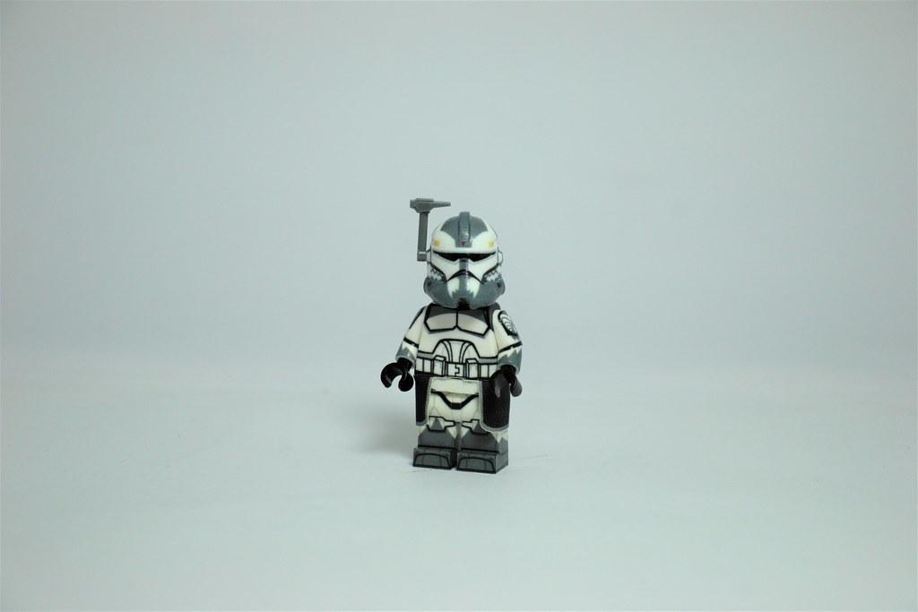 Lego P1 HEAVY 501st Clone Minifigure CAC Full Body Custom Printed
