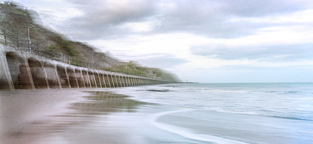 Impression Folkestone beach (1 of 1)